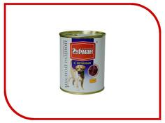 Корм Четвероногий Гурман Мясной рацион с Печенью 850g для собак 11911