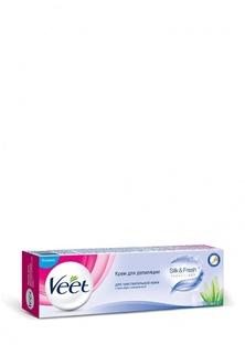 Средства для эпиляции Veet для депиляции для чувствительной кожи, 100 мл для депиляции для чувствительной кожи, 100 мл