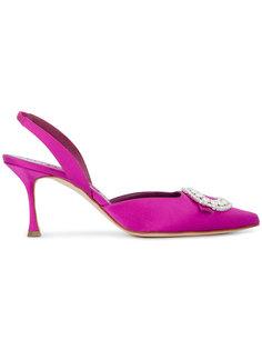 декорированные туфли Fiboslac Manolo Blahnik