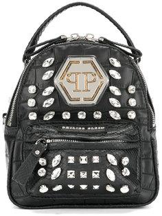 декорированный мини рюкзак Philipp Plein