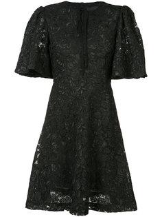 платье с цветочным узором Co