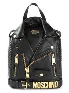 байкерский рюкзак Moschino