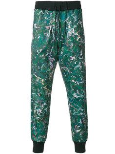 спортивные брюки с принтом Y-3