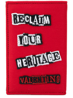 кошелек с заплатками Джейми Рейда Valentino Garavani Valentino