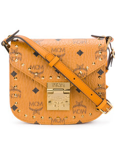 studded saddle crossbody bag MCM