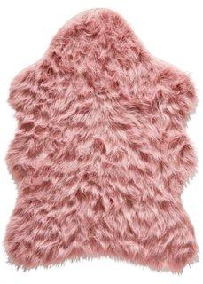 Коврик из искусственного меха (розовый) Bonprix