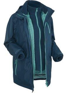 Мультифункциональная куртка (темно-синий) Bonprix