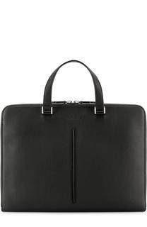 Кожаный портфель на молнии Dior