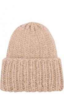 Шерстяная шапка фактурной вязки Karakoram accessories