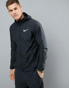 Черная спортивная куртка Nike Running Essentials 856892-010 - Черный