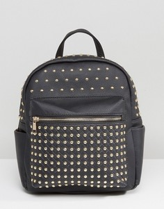 Рюкзак с металлическими заклепками Missguided - Черный