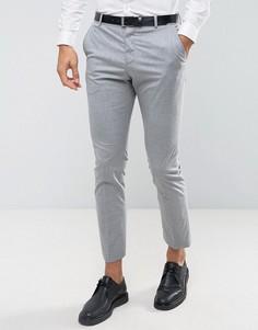 Облегающие эластичные брюки Selected Homme - Серый