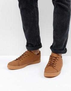 Светло-коричневые кроссовки на шнуровке ASOS - Рыжий