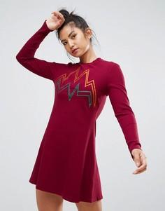 Платье Ziztar Sound Of Flowing - Красный