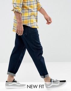 Расклешенные джинсы цвета индиго ASOS - Синий
