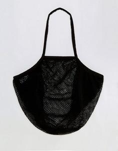 Сумка-шоппер из веревки ASOS BEACH - Черный