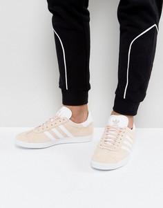 Розовые кроссовки adidas Originals Gazelle BB5472 - Розовый