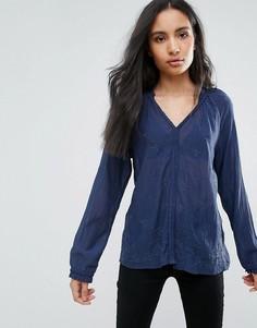 Блузка с V-образным вырезом Pepe Jeans Manu - Белый
