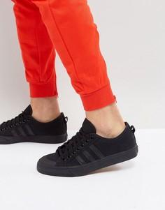 Черные кроссовки adidas Originals Nizza Lo BZ0495 - Черный