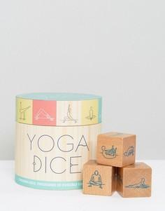 Набор игральных кубиков для йоги - Мульти Books