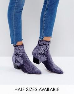 Ботинки с острым носком ASOS REGIONAL - Синий