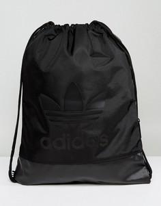 Черная спортивная сумка adidas Originals - Черный