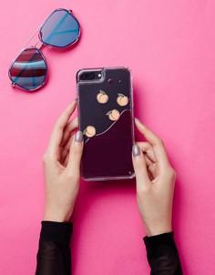 Чехол для iPhone 6/7 Plus+ с жидкостью Skinnydip - Мульти