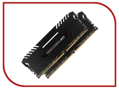 Модуль памяти Corsair Vengeance LED DDR4 DIMM 3000MHz PC4-24000 CL15 - 16Gb KIT (2x8Gb) CMU16GX4M2C3000C15