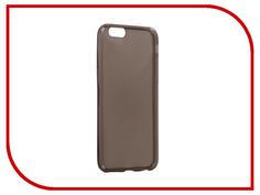 Аксессуар Чехол Snoogy Creative Silicone 0.3mm для APPLE iPhone 6 4.7 Black