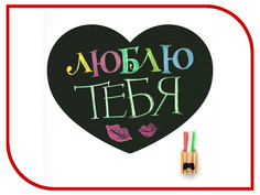 Гаджет Магнитная доска на холодильник Melompo Heart мини 440603