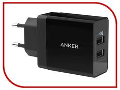Зарядное устройство Anker 2xUSB Power IQ A2021L11 Black 897068