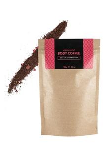 Аргановый скраб Body_Coffee  Cream Strawberry, 150 g Huilargan