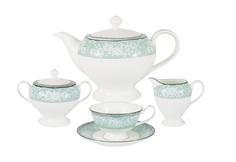 """Чайный сервиз из 17 предметов на 6 персон """"Прикосновение"""" Narumi"""