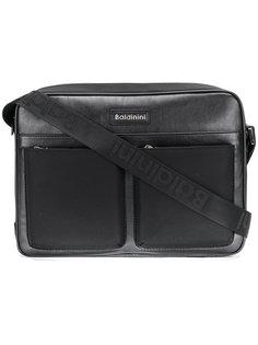 logo patch laptop bag Baldinini
