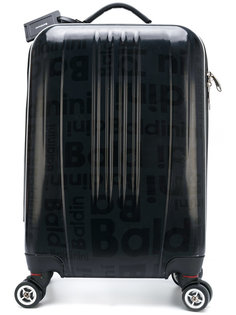 printed travelling case Baldinini