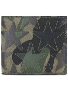 камуфляжный бумажник Valentino