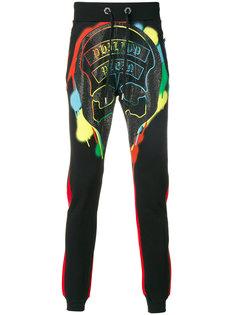 спортивные брюки с принтом черепа Philipp Plein