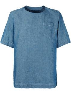 джинсовая футболка  Sacai