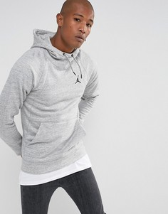 Худи серого цвета Nike Jordan Wings 860200-063 - Серый