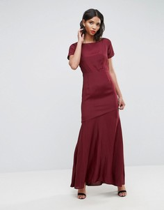 Платье-футболка макси в стиле 30-х ASOS - Мульти