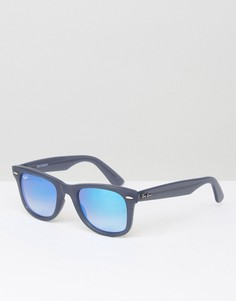 Солнцезащитные очки-вайфареры Ray-Ban 0RB4340 - Синий