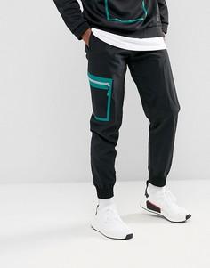 Черные джоггеры карго adidas Originals EQT Sellwood BQ2084 - Черный