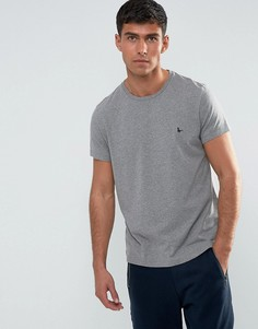 Серая меланжевая футболка Jack Wills Sandleford - Серый