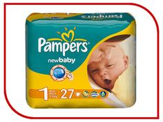 Подгузники Pampers New Baby-Dry Newborn 2-5кг 27шт 4015400264453