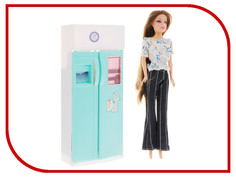 Игра 1Toy Красотка набор мебели с куклой, холодильник Т54496