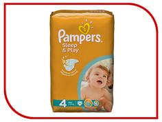 Подгузники Pampers Sleep & Play Maxi 7-14кг 14шт 4015400166658