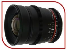Объектив Samyang Sony E NEX MF 24 mm T1.5 ED AS UMC VDSLR