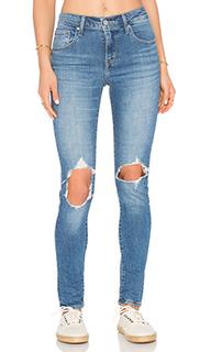 Узкие джинсы 721 high rise - LEVIS