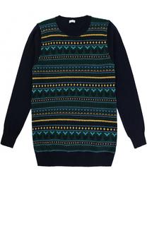Пуловер из шерсти с принтом Il Gufo