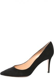 Замшевые туфли Classic на шпильке Gianvito Rossi